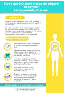 Alarma en Caldas por hepatitis A